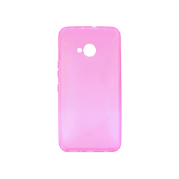 HTC U11 Life - Gumiran ovitek (TPU) - roza-prosojen CS-Type