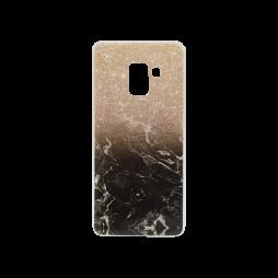Samsung Galaxy A8 (2018) - Gumiran ovitek (TPUP) - Marble 1