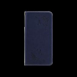 Samsung Galaxy A8 (2018) - Preklopna torbica (WLGO-Butterfly) - modra