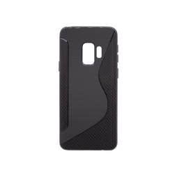 Samsung Galaxy S9 - Gumiran ovitek (TPU) - črn CS-Type