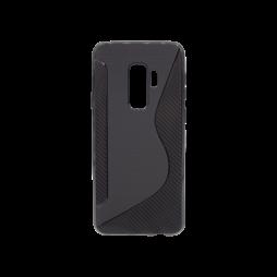 Samsung Galaxy S9+ - Gumiran ovitek (TPU) - črn CS-Type