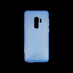 Samsung Galaxy S9+ - Gumiran ovitek (TPU) - modro-prosojen CS-Type
