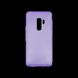 Samsung Galaxy S9+ - Gumiran ovitek (TPU) - vijolično-prosojen CS-Type