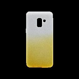 Samsung Galaxy A8 (2018) - Gumiran ovitek (TPUB) - rumena