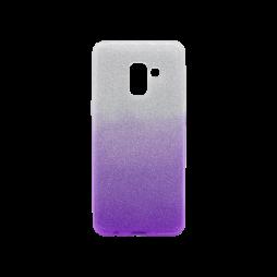 Samsung Galaxy A8 (2018) - Gumiran ovitek (TPUB) - vijolična