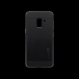 Samsung Galaxy A8 (2018) - Gumiran ovitek (ARM-01) - črn