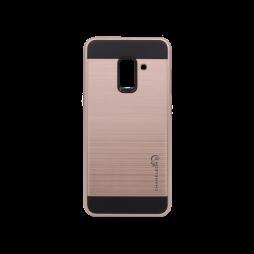 Samsung Galaxy A8 (2018) - Gumiran ovitek (ARM-01) - roza-zlat
