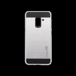 Samsung Galaxy A8 (2018) - Gumiran ovitek (ARM-01) - srebrn