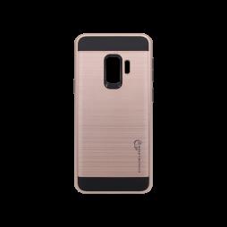 Samsung Galaxy S9 - Gumiran ovitek (ARM-01) - roza-zlat