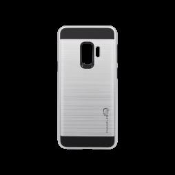 Samsung Galaxy S9 - Gumiran ovitek (ARM-01) - srebrn