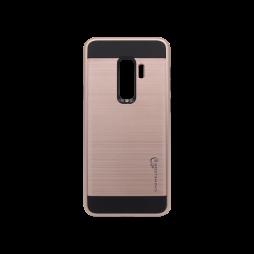 Samsung Galaxy S9+ - Gumiran ovitek (ARM-01) - roza-zlat