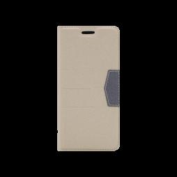 Samsung Galaxy A8 (2018) - Preklopna torbica (47G) - bež