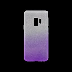 Samsung Galaxy S9+ - Gumiran ovitek (TPUB) - vijolična