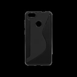 Huawei P9 Lite mini - Gumiran ovitek (TPU) - črn CS-Type