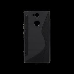 Sony Xperia XA2 - Gumiran ovitek (TPU) - črn CS-Type