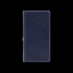 Samsung Galaxy S9+ - Preklopna torbica (WLGO-Butterfly) - modra