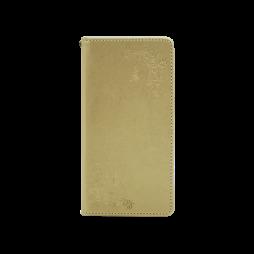 Samsung Galaxy S9+ - Preklopna torbica (WLGO-Butterfly) - zlata