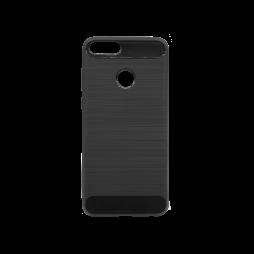 Huawei P Smart - Gumiran ovitek (TPU) - črn A-Type