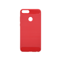 Huawei P Smart - Gumiran ovitek (TPU) - rdeč A-Type