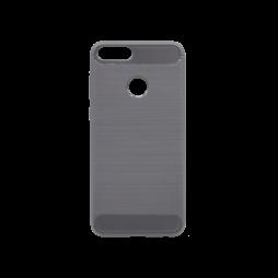 Huawei P Smart - Gumiran ovitek (TPU) - siv A-Type