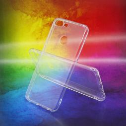 Huawei Honor 9 Lite - Gumiran ovitek (TPUA) - prosojen