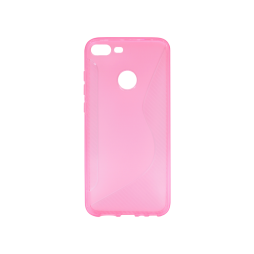 Huawei Honor 9 Lite - Gumiran ovitek (TPU) - roza-prosojen CS-Type