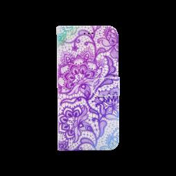 Samsung Galaxy S9 - Preklopna torbica (WLGP) - Purple lotus
