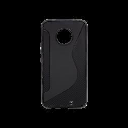 Motorola Moto X4  - Gumiran ovitek (TPU) - črn CS-Type