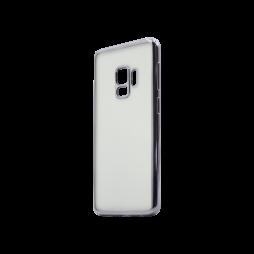 Samsung Galaxy S9 - Gumiran ovitek (TPUE) - rob črn