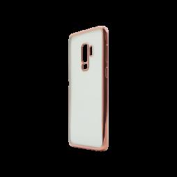 Samsung Galaxy S9+ - Gumiran ovitek (TPUE) - rob roza-zlat