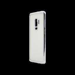 Samsung Galaxy S9+ - Gumiran ovitek (TPUE) - rob srebrn
