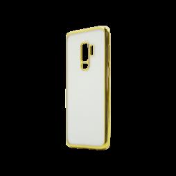 Samsung Galaxy S9+ - Gumiran ovitek (TPUE) - rob zlat