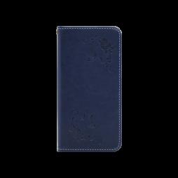Samsung Galaxy S9 - Preklopna torbica (WLGO-Butterfly) - modra