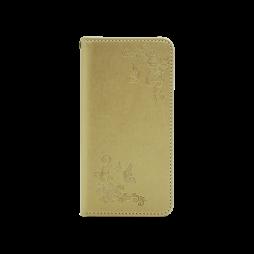 Samsung Galaxy S9 - Preklopna torbica (WLGO-Butterfly) - zlata