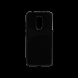 Xiaomi Redmi 5 - Gumiran ovitek (TPU) - črn svetleč