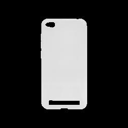 Xiaomi Redmi 5A - Gumiran ovitek (TPU) - belo-prosojen svetleč