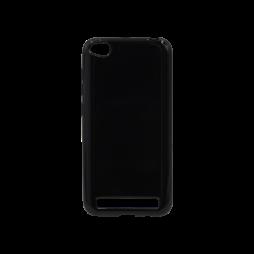 Xiaomi Redmi 5A - Gumiran ovitek (TPU) - črn svetleč