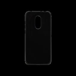 Xiaomi Redmi 5 Plus / Note 5 - Gumiran ovitek (TPU) - črn svetleč