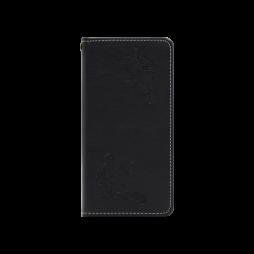 Huawei P20 - Preklopna torbica (WLGO-Butterfly) - črna