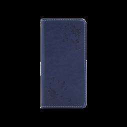 Huawei P20 - Preklopna torbica (WLGO-Butterfly) - modra
