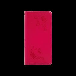 Huawei P20 - Preklopna torbica (WLGO-Butterfly) - rdeča