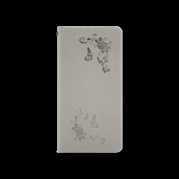 Huawei P20 - Preklopna torbica (WLGO-Butterfly) - siva