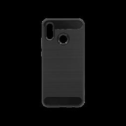 Huawei P20 Lite - Gumiran ovitek (TPU) - črn A-Type