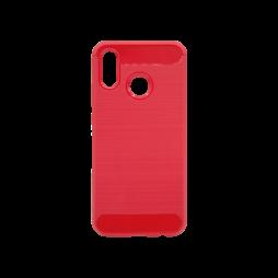Huawei P20 Lite - Gumiran ovitek (TPU) - rdeč A-Type