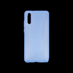 Huawei P20 - Gumiran ovitek (TPU) - modro-prosojen CS-Type
