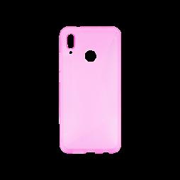 Huawei P20 Lite - Gumiran ovitek (TPU) - roza-prosojen CS-Type