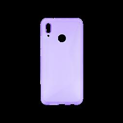 Huawei P20 Lite - Gumiran ovitek (TPU) - vijolično-prosojen CS-Type