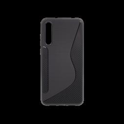 Huawei P20 Pro - Gumiran ovitek (TPU) - črn CS-Type