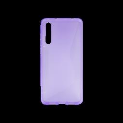 Huawei P20 Pro - Gumiran ovitek (TPU) - vijolično-prosojen CS-Type