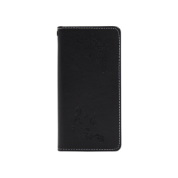 Huawei P20 Lite - Preklopna torbica (WLGO-Butterfly) - črna